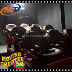 The first family leisure choice 5d cinema equipment for 5d cinema