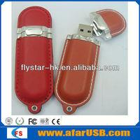 Wholesale NEW black color leather Genuine 4GB 8GB 16GB 32GB USB 2.0 Memory Stick Flash Pen Drive