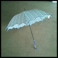Leather handle umbrella,Prom dresses girls umbrella