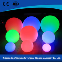 PE glowing led ball outdoor for nightclub
