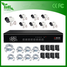 2015 new product 8ch nvr ip camera kit home security system low price in india