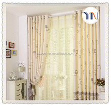 beautiful pure flame retardant fabric home curtain fabric for wedding time