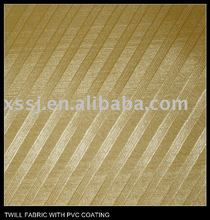 TWILL FABRIC WITH PVC COATING