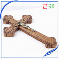 2016 Super quality decorative wooden crosses for craft
