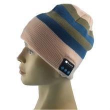 Factory wholesale knitting bluetooth speaker hat