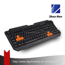 Free Sample Laser printing 104 keys customized cheap usb keyboard