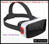 The best quality 3D virtual reality headset plastic 3d glasses VR Google cardboard with Bluetooth Gamepad