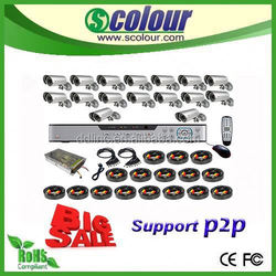 cctv hd monitor,home central audio system,16channel bullet cctv camera system