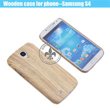 Fashion Bamboo Wooden For Samsung S4 Case W6001-6