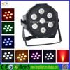 Chepaer Mini backlight 7x10W 4IN1 RGBW LED FLAT PAR STAGE LIGHT