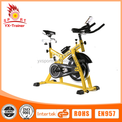 2015 Jinhua on sale indoor new style fat bike total crunch spinning bike as seen on tv