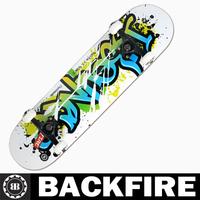 Backfire 2015 theoem skateboard custom skateboarding Professional Leading Manufacturer