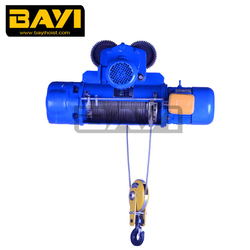 CD1 wire rope electric hoist 220v 2ton hoist wireless remote control