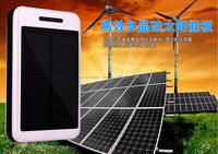 Hot selling 8000mah portable solar mobile phone charger