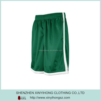 Blank Green Quick Dry Short Sports Articles