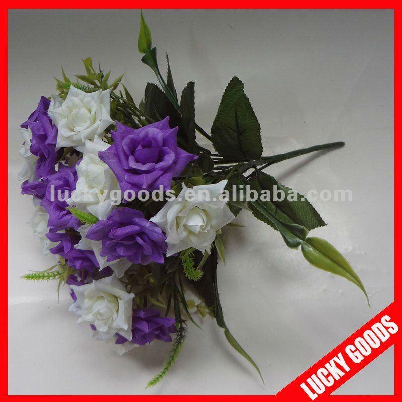 bouquet de mariage fleur artificielle mini bouquet fleurs fleurs guirlande de d coration id. Black Bedroom Furniture Sets. Home Design Ideas