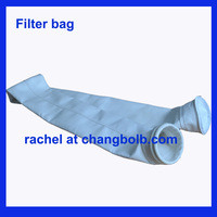 Baghouse Dust collector PP filter sleeve / dust filter bag