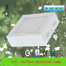 factory price 6W-24W led lamp surface monunted, round led lamp Zhongshan