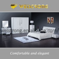Classical white color cheap bedroom furniture price