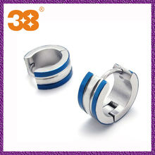 2013 China Wholesale Fashion Jewellery Stainless steel Hip Hop Earrings
