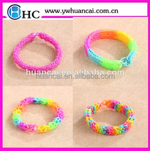Mixed Colored rubber loom bands,crazy loom bands wholesale,factory supply directly loom bands