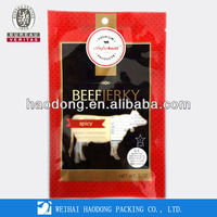 High Quality Clear Packaging Bag For Beef Jerky