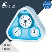 2016 New Design Fancy Design Alarm Clock Silicone