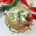 bola de navidad la decoración de los árboles de regalo de vacaciones