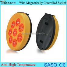 400mm Red Sunflower Solar LED Blinker