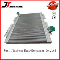 high heat exchanger aluminum air cooled special design machinery hydraulic oil cooler Approved ISO and CE
