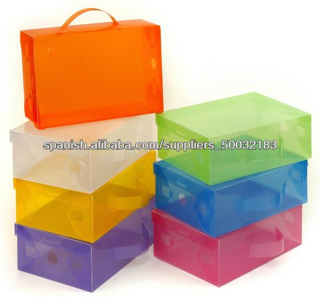 Caja de zapatos kit cajas para zapatos u otros - Cajas transparentes para zapatos ...