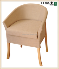Deluxe wooden commode chair beech wood chair use in bedroom RJ-C252A