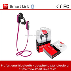 Available sports running earphone wireless for computer connect earpiece smart phone use