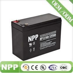 sla rechargeable lead acid battery 12v 9ah