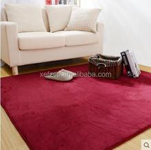 machine made faux sheepskin rug colored