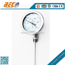 Industrial bimetal temperature thermometer gauges