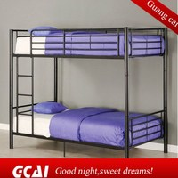 High quality metal frame comfortable cheap bedroom furniture bunk bed