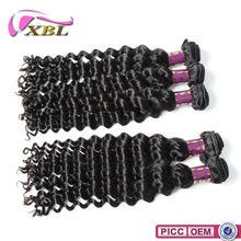 2015 XBL Virgin Remy Hair Deep Curl Braiding Human Hair