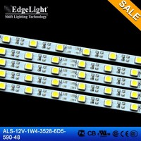EdgeLight CE RoHS approval high quality flexible 12 volt rgb SMD 3528 led strip light