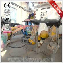 lifting and rotating series kungfu panda used amusement park rides