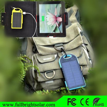 Solar Powered Cell Phone Charger For Phone ,GPS,PAD,Music Player
