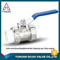 oil brass gas ball valve forged polishing manual power ppr pipe fitting and hydrauic PN40 motorize nickel-plated full port plate
