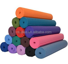 Colorful waterproof PVC yoga mat/ PVC foam yoga mat/non-slip exervise mat