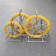 4.5mm fiberglass duct snake/electric cable duct rodders, fiberglass fish tapes/ Insulation Solid Fiberglass Rod