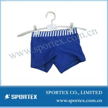 Nylon/lycra high performance swim trunk for boys with UV50+