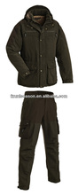 100% polyester winter hunting set men