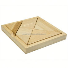 Wooden Tangrams for Children , High Quality Tangram Puzzle Educational Toy , Funny Toy Tangram