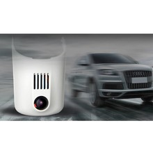 Professional HD DVR for audi with Wide Angle 170 degree and G-sensor