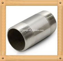 Building Material Made in China ANSI/ASME B1.20.1 Sch40 Stainless Steel Pipe Nipples