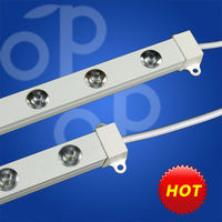led strip 2015!CE ROHS edge high power light LED light bar warm white for single side illumination led sign board